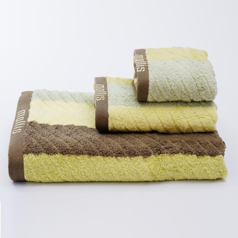 Bộ 3 khăn tắm- khăn mặt- khăn tay Mollis cao cấp nont BMN1-FMN1-HMN1