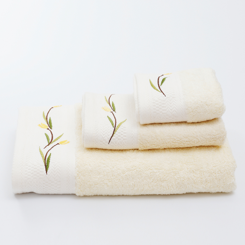 Bộ 3 khăn tắm- khăn mặt- khăn tay Mollis cao cấp soybean BMB4-FMD4-HME2