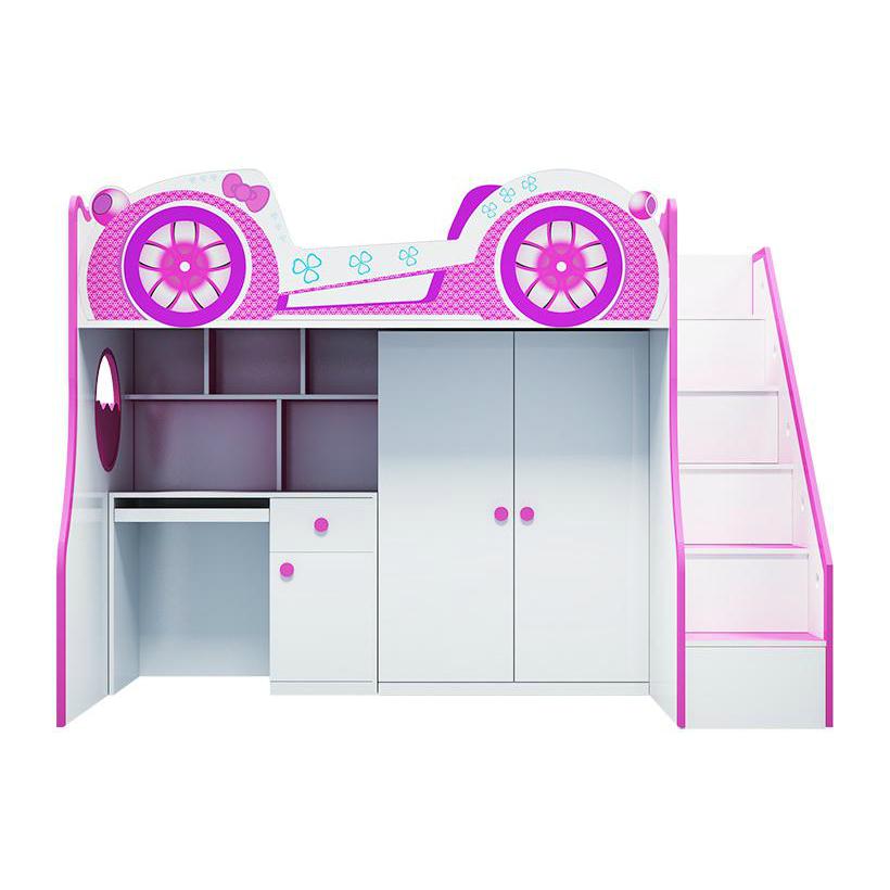 Giường tầng trẻ em 3 trong 1 - GT11