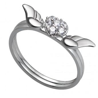 Nhẫn nữ bạc cao cấp PNJSilver SND2KN10583.100