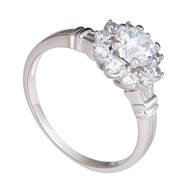 Nhẫn bạc cao cấp SND2KN06059.100