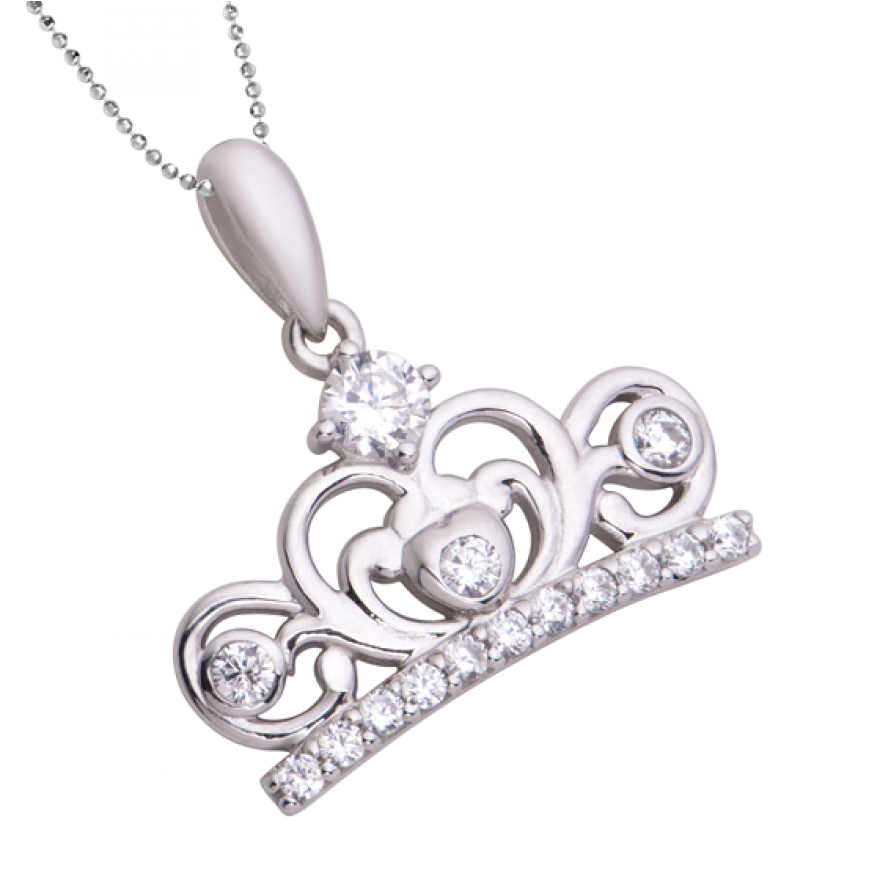 Mặt dây chuyền bạc My Princess PNJSilver SMD2KN13562.100