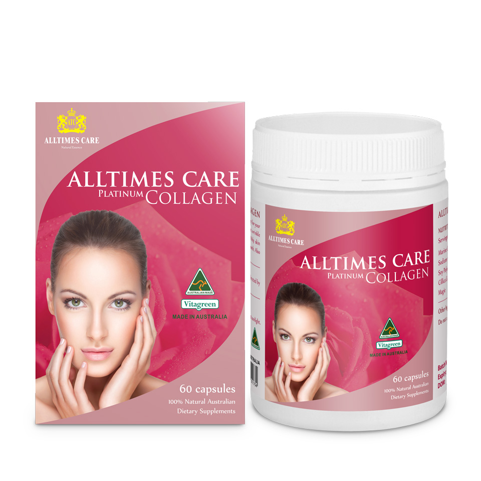Viên uống Alltimes Care Collagen Platinum