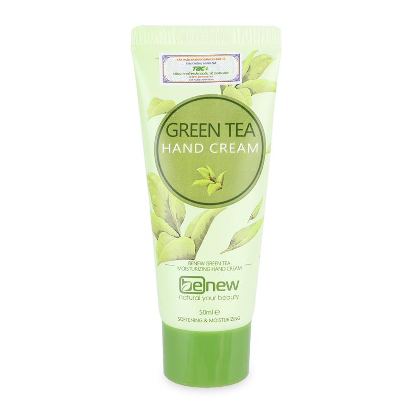 Kem dưỡng da tay Benew Green Tea Hand Cream cao cấp Hàn Quốc