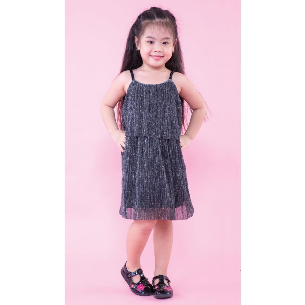 Đầm bé gái Ugether UKID165 (Bạc)