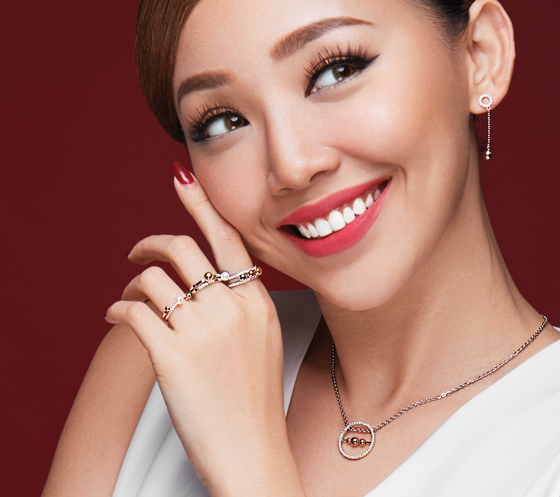 Bộ trang sức bạc Her Time PNJSilver SCH2ZK13319.100-SND2ZN13320.100-SBH2QK13321.100
