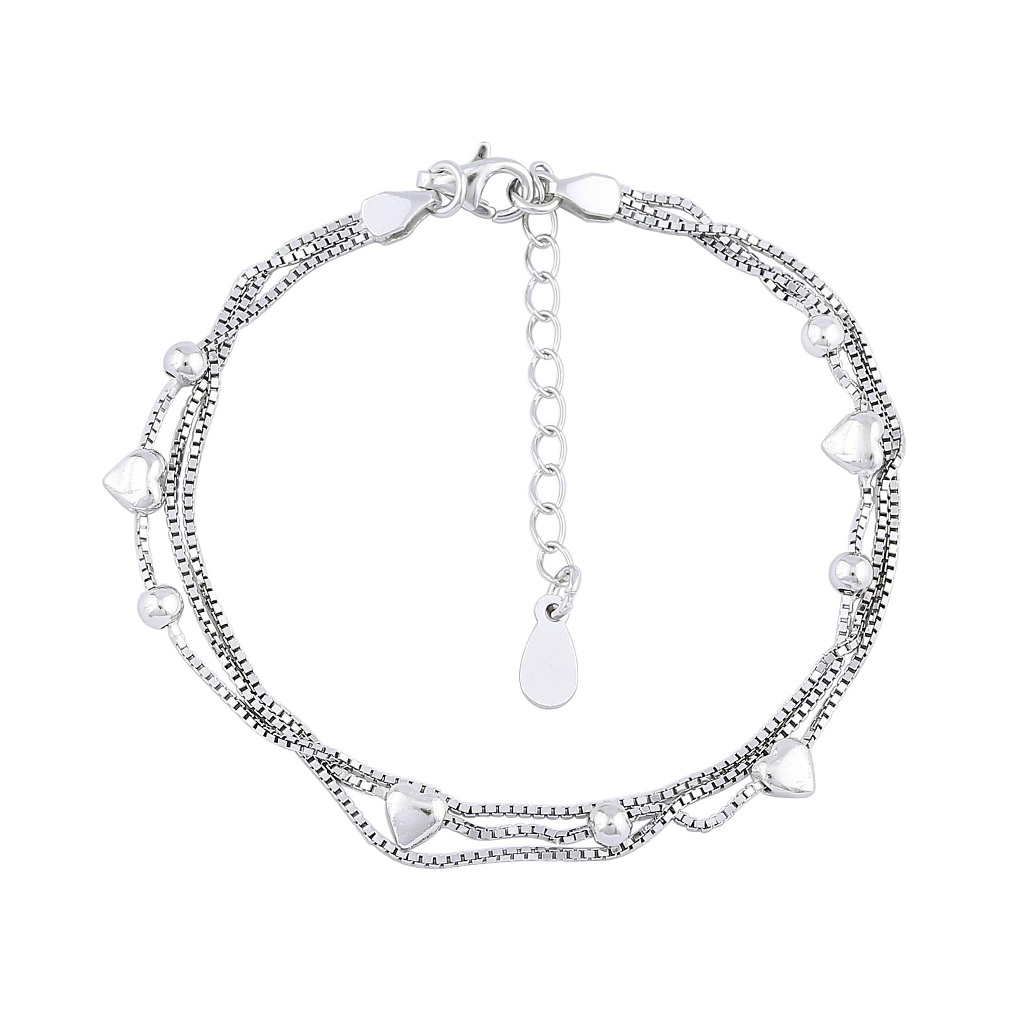 Lắc tay bạc nữ mã Q91LAU000134