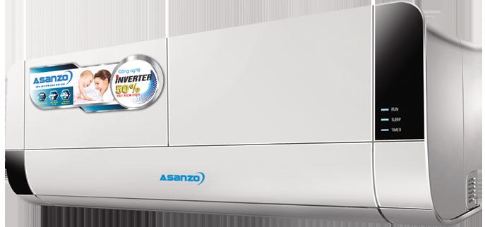 Máy lạnh Asanzo Inverter K9 (New 2017)
