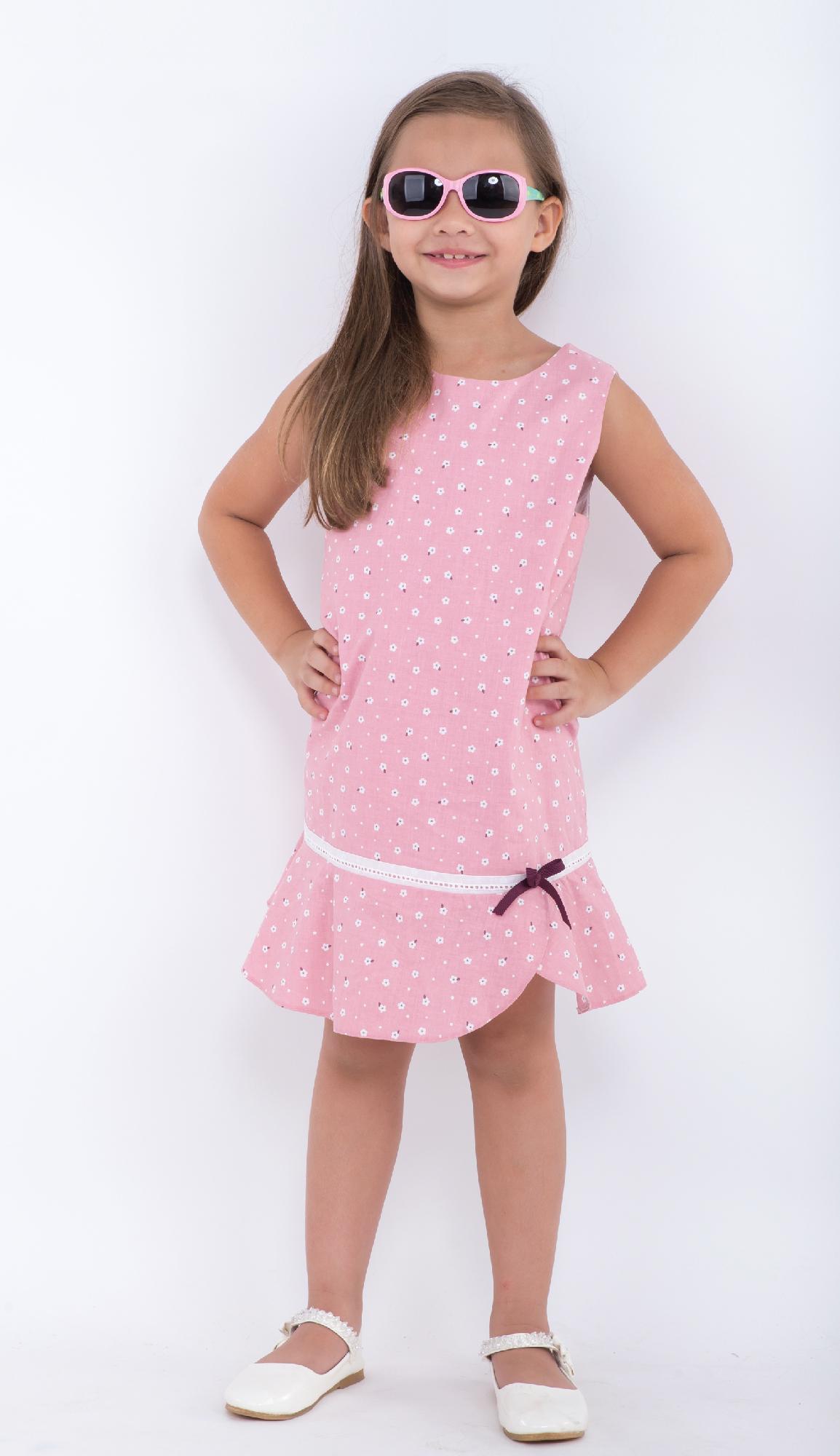 Đầm bé gái Ugether UKID179 (Họa tiết)