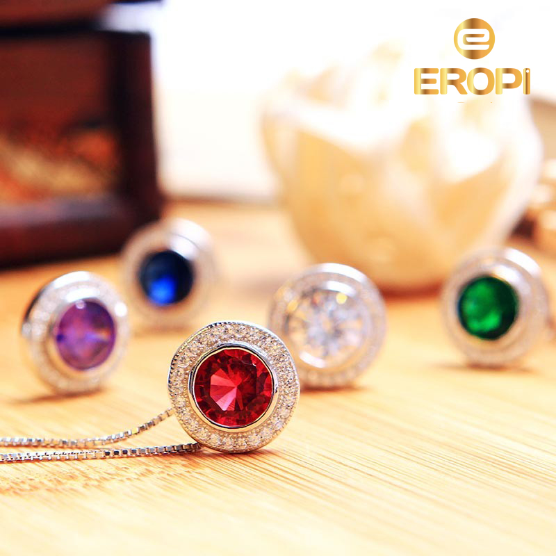 Bộ trang sức bạc Love Song - Eropi Jewelry
