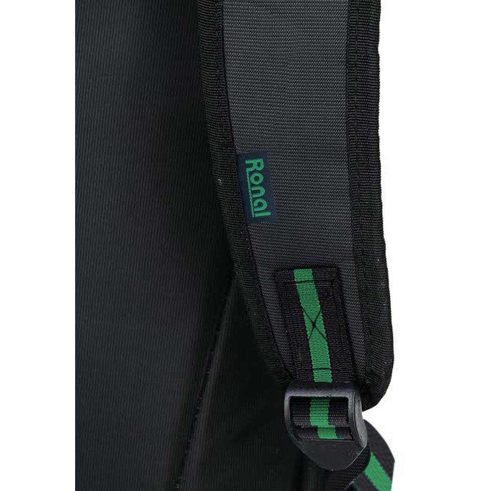 Ba lô Ronal BL85 - đen sọc xanh lá