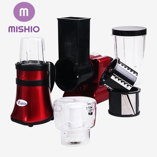 Máy xay cắt đa năng Mishio ( Đỏ đô )