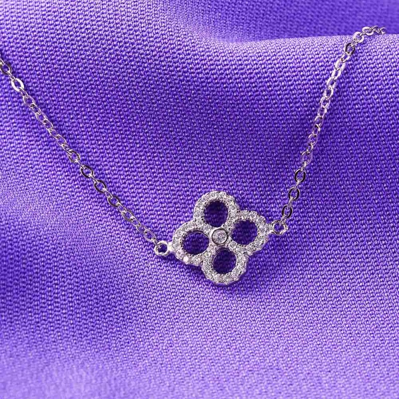 Lắc tay bạc Sophia Flower - Eropi Jewelry