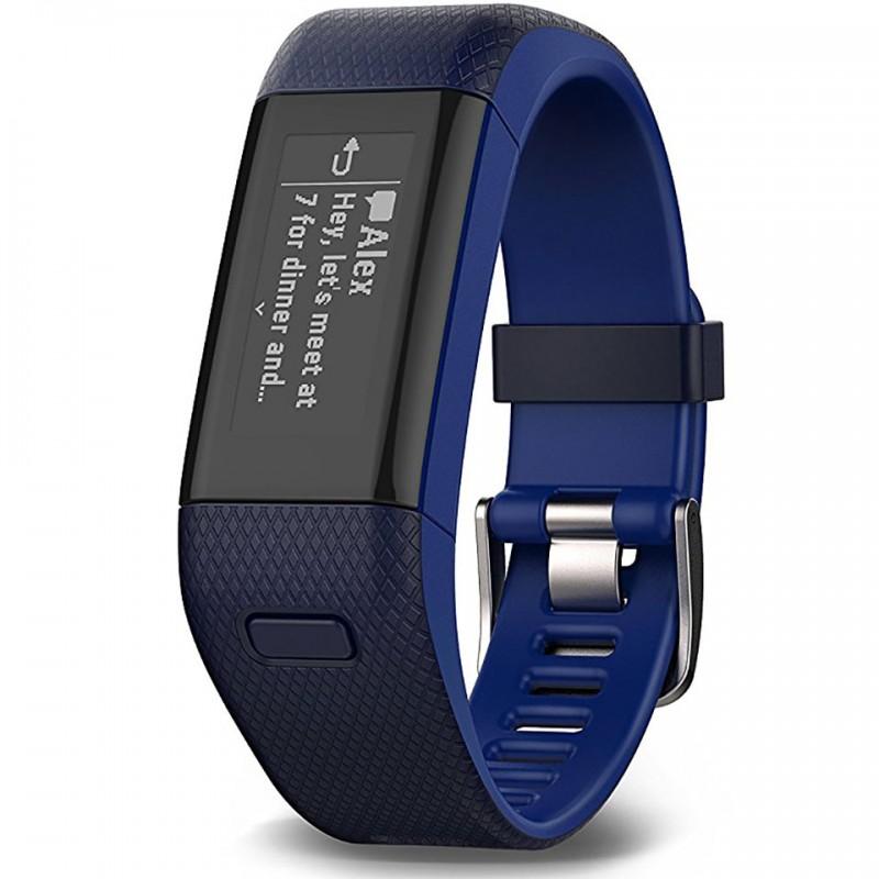 Đồng hồ thông minh Garmin Vivosmart HR - Xanh đen