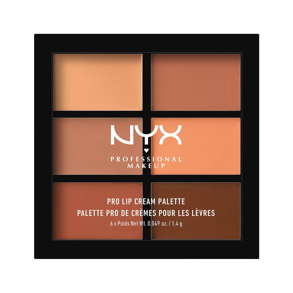 Bảng son môi dạng kem NYX Professional Makeup Pro Lip Cream Palette PLCP02 The Nudes