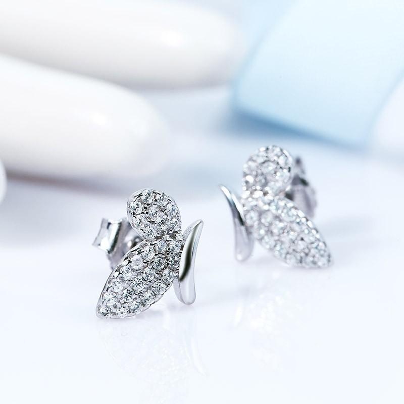 Bộ trang sức bạc Alfa Butterfly - Eropi Jewelry