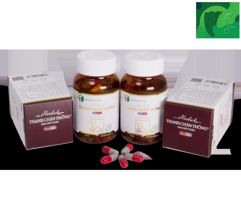 Combo 2 hộp Thanh Chân Thống - Điều trị đau gót chân