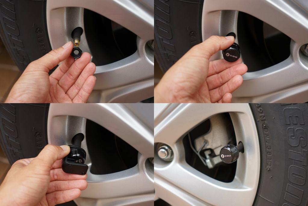 Cảm biến áp suất lốp Fobo Tire (Silver)