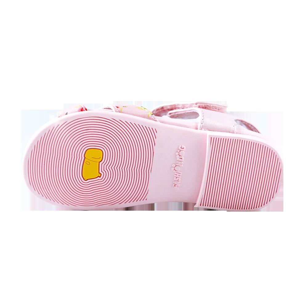 Giày xăng đan bé gái Fashion Dog (hồng)