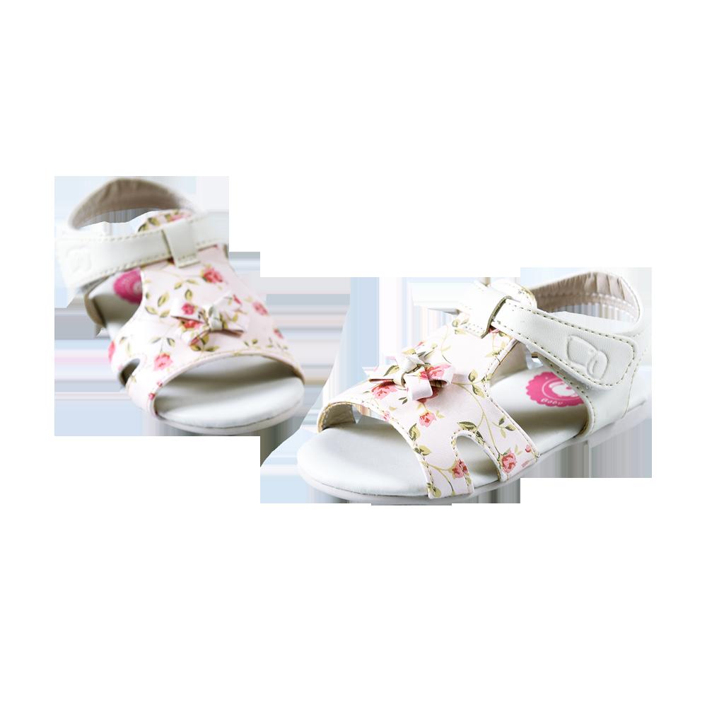 Giày xăng đan bé gái Fashion Dog (kem)