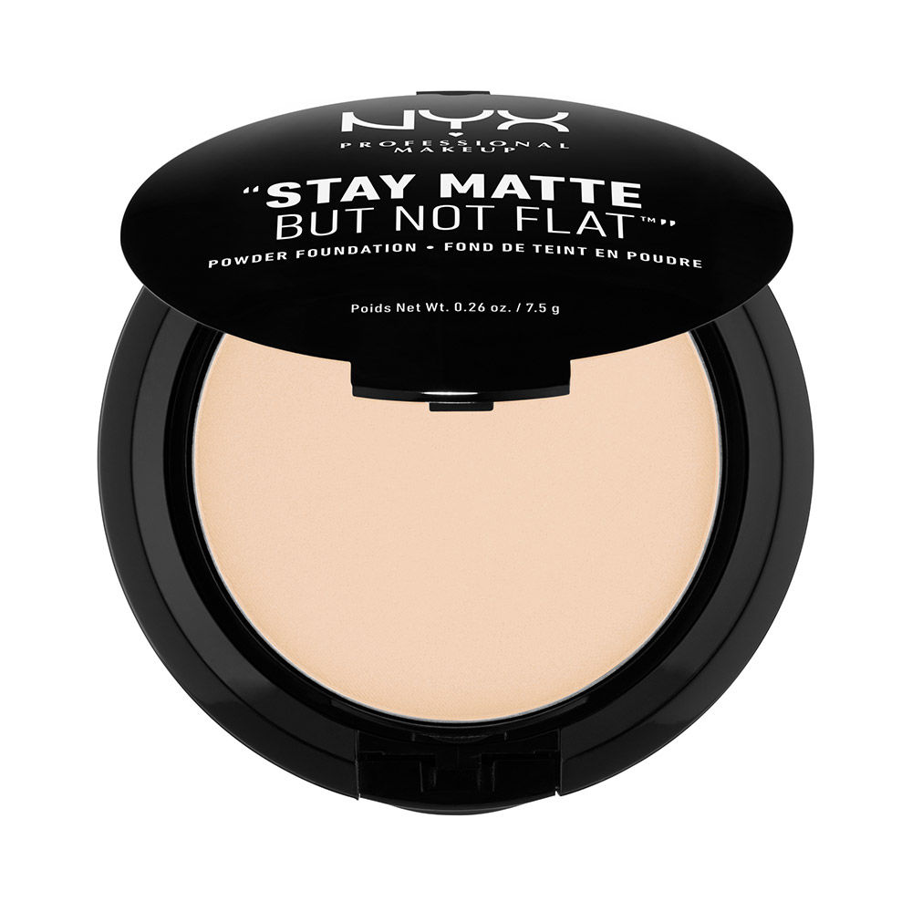 Phấn nền dạng nén NYX Stay Matte but not Flat Powder Foundation Ivory SMP01