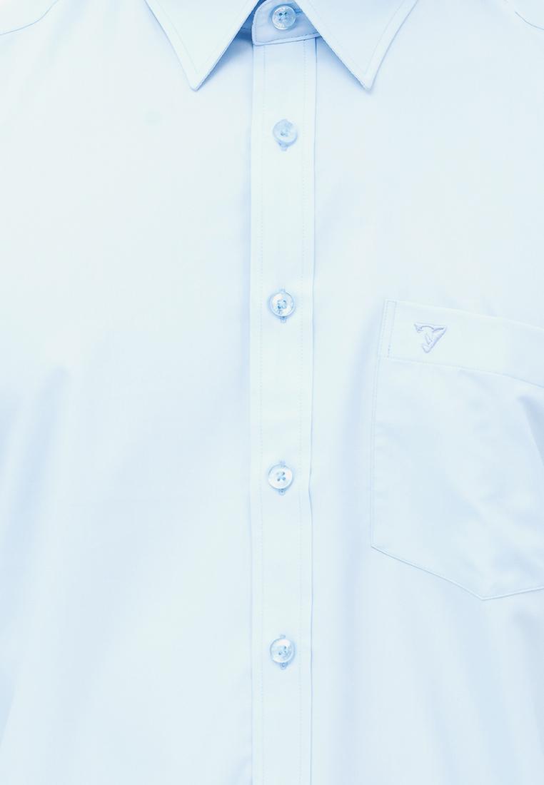 Áo sơ mi dài tay màu bamboo slimfit  Vĩnh Tiến CL -3908 (xanh dương nhạt)