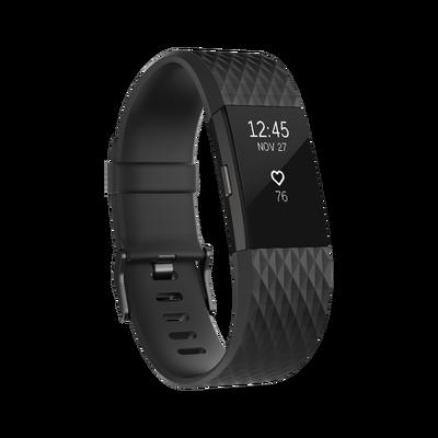 Vòng đeo sức khỏe Fitbit Charge 2 - GUNMETAL