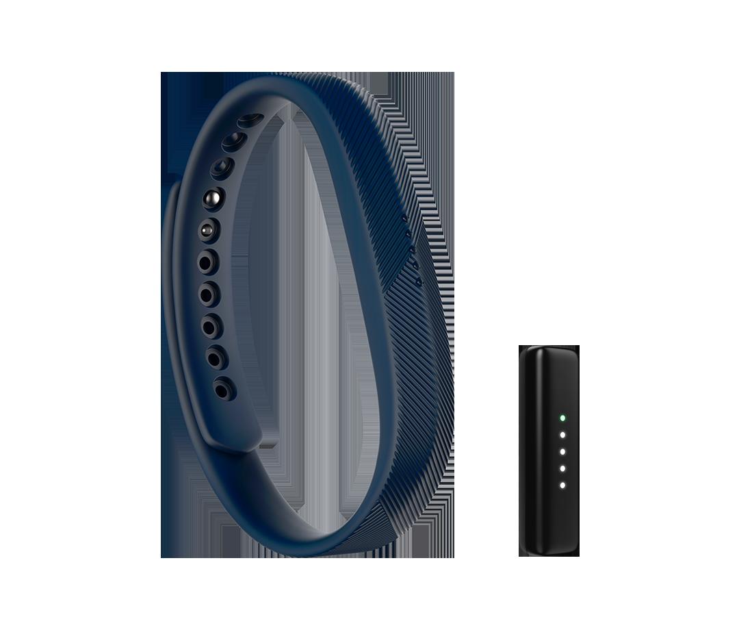 Vòng đeo sức khỏe Fitbit Flex 2 - Navy