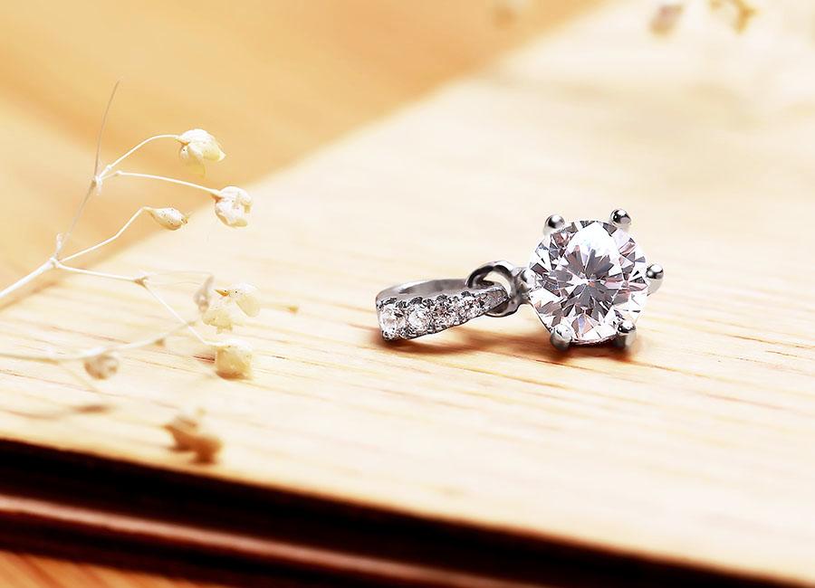Mặt dây chuyền bạc Lilacs Love - Eropi Jewelry