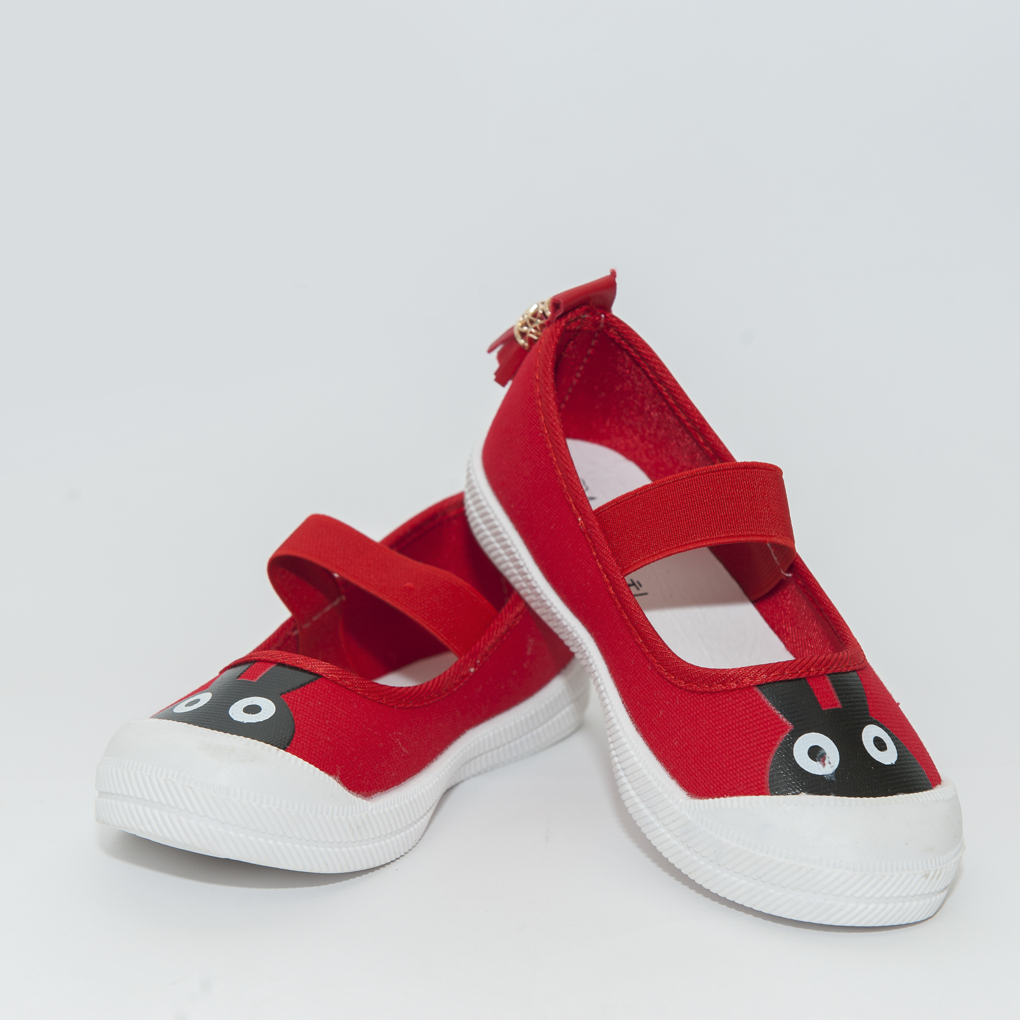 Giày búp bê Hàn Quốc màu đỏ