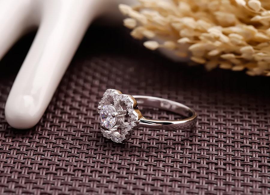 Nhẫn bạc Vanessa Love - Eropi Jewelry