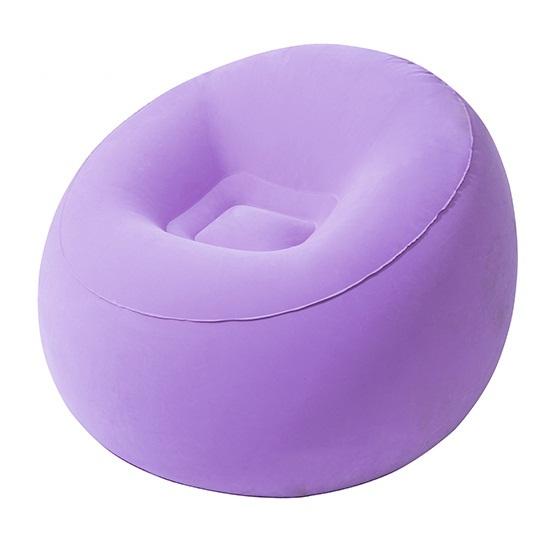 Ghế hơi hình quả đào - màu tím :  75052