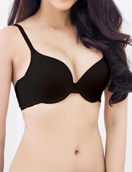 Áo ngực mút mỏng T-shirt đen iBasic BS34