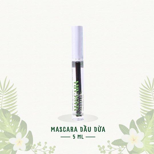 Mascara dầu dừa Milaganics 5ml