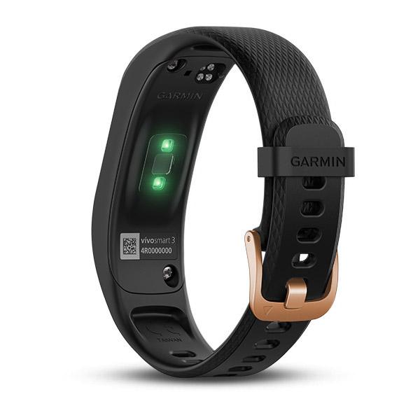 Đồng hồ thông minh Garmin Vivosmart 3 - Đen hồng
