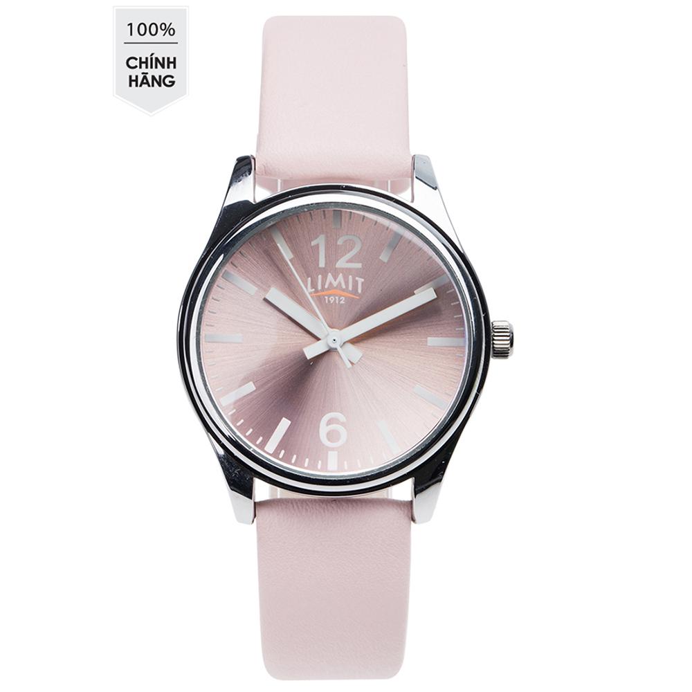 Đồng hồ kim nữ Limit 6218 hồng