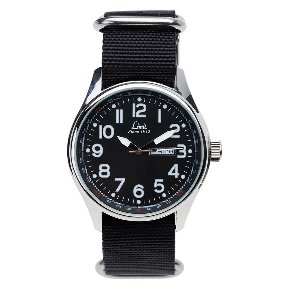 Đồng hồ dây vải nam Limit Men Pilot 5493 43mm