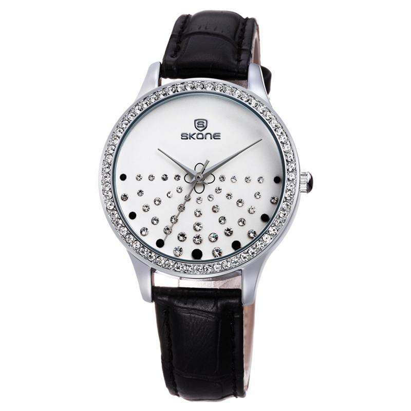 Đồng hồ nữ Skone 9273  đen