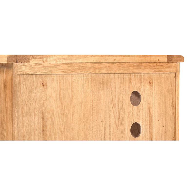 Tủ TV 1 cánh Rustic gỗ sồi - IBIE