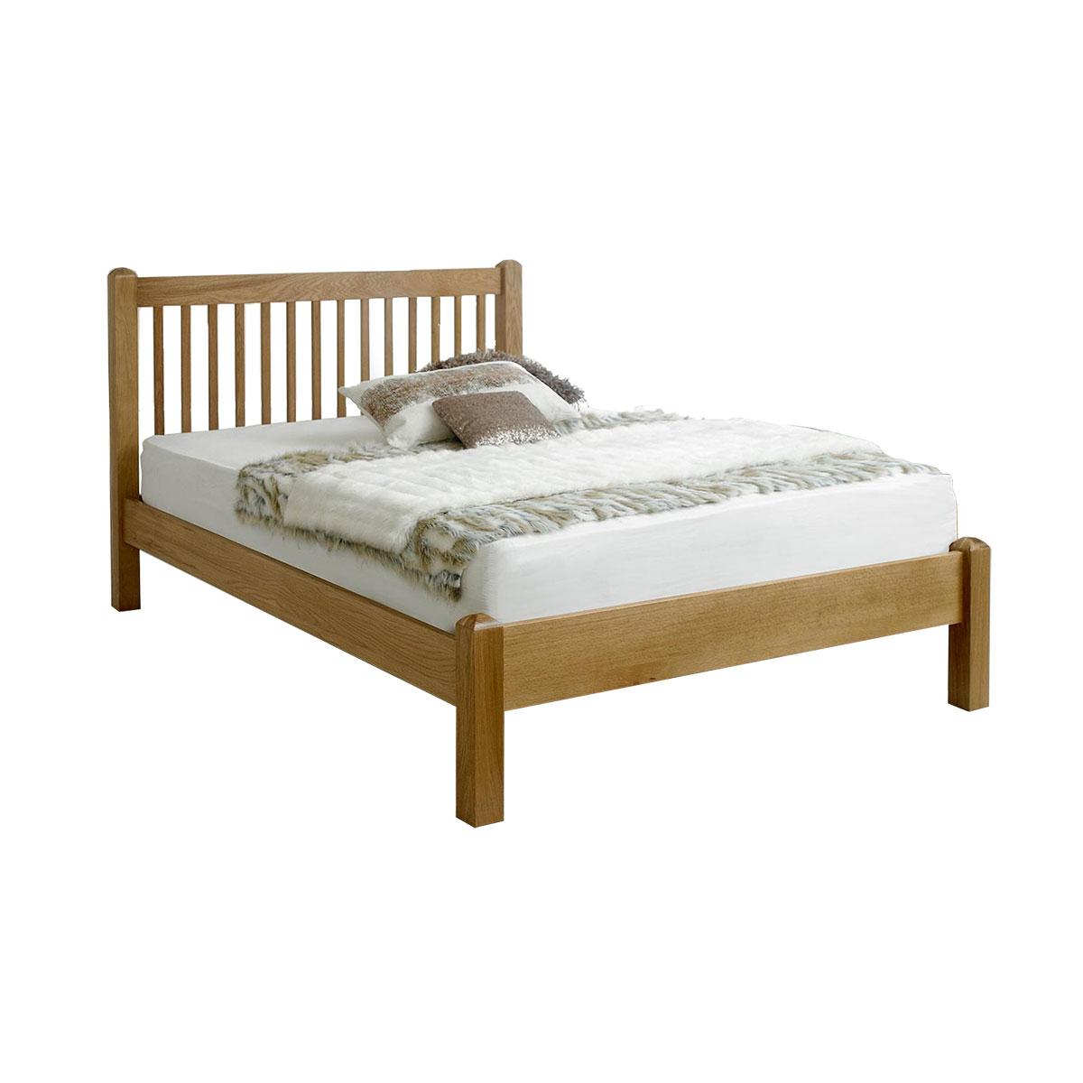 Giường đôi Trafagar gỗ sồi 2m - IBIE
