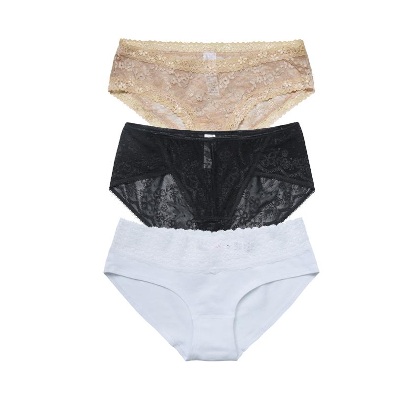 Combo 3 quần lót Fashion Miley Lingerie FCS0200_FLS0900_FLG0100