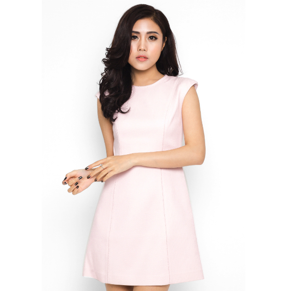 Váy ôm tube hồng - Mimi