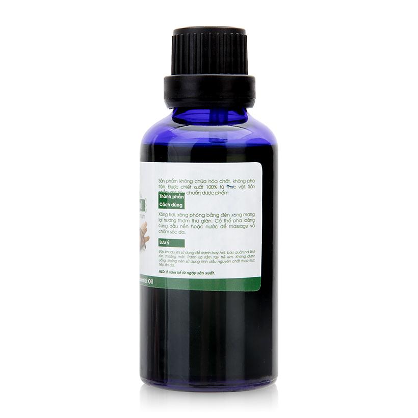 Tinh dầu vỏ quế nguyên chất Lorganic  50ml