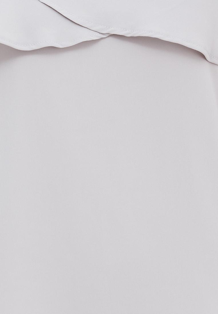 Đầm voan 2 dây Amun màu xám bèo nguc DMI115-XAM