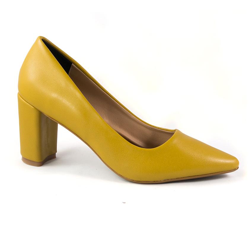 Giày cao gót vàng Dolly & Polly