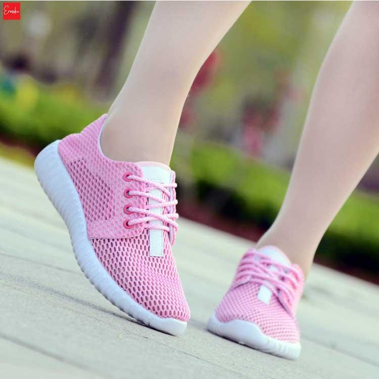 Giày sneaker thời trang nữ Zapas GN020 (Hồng)