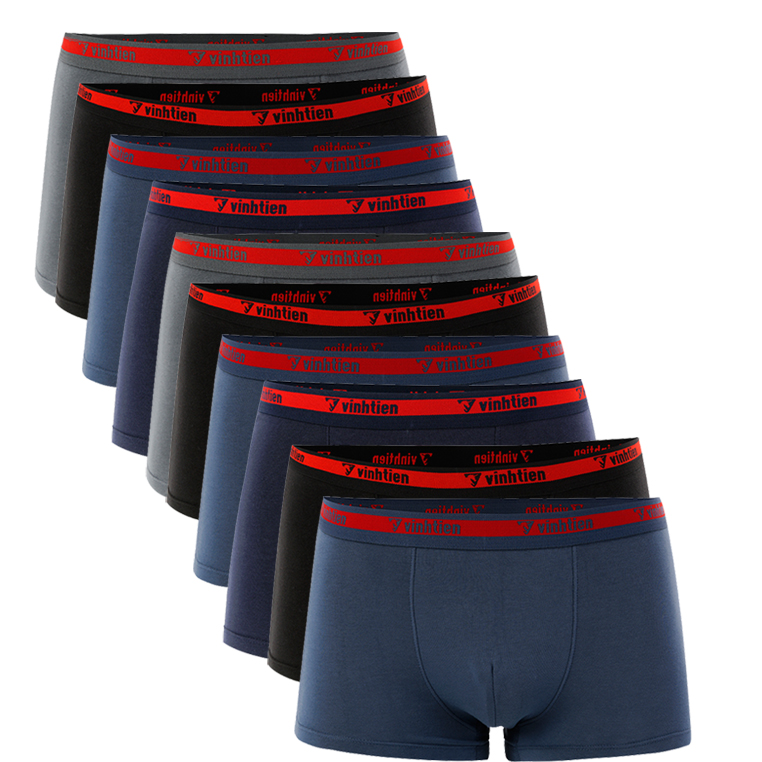 Combo 10 quần lót boxer Vĩnh Tiến