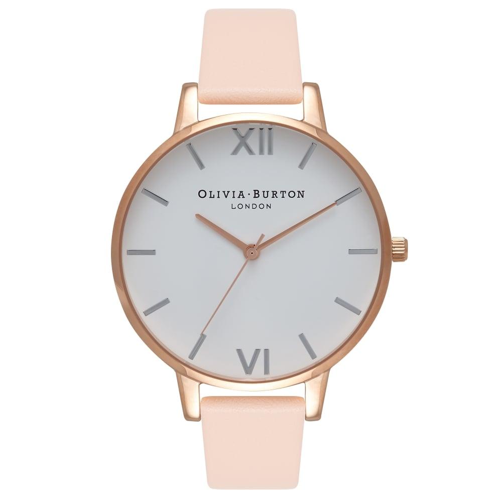 Đồng hồ kim nữ Olivia Burton OB16BDW21 màu trắng