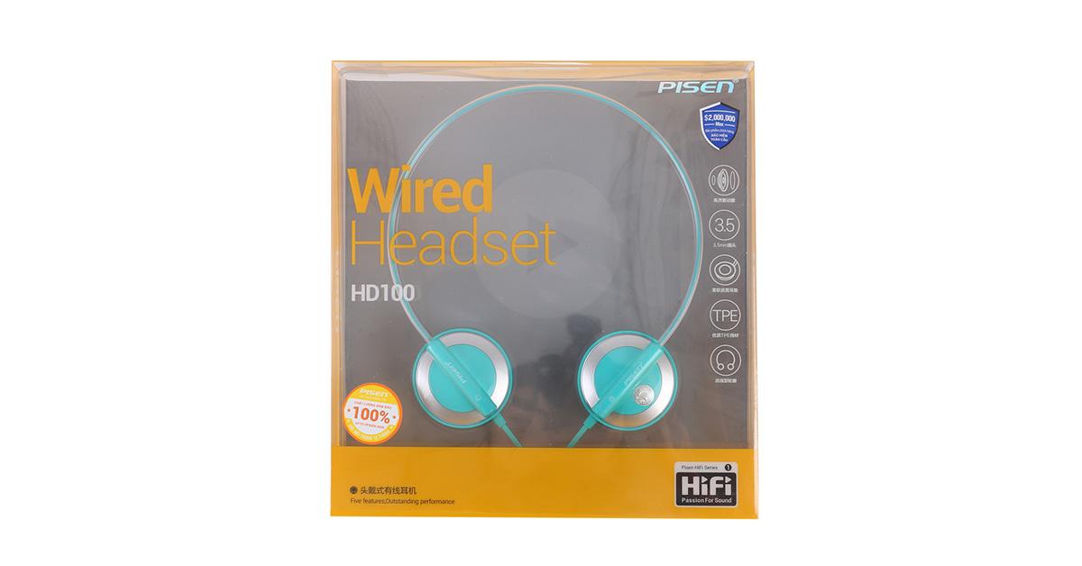 Tai nghe HD100 - hàng chĩnh hãng Pisen