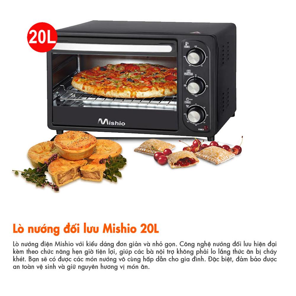 Lò nướng điện Mishio 20 lít MK02 (135008-METC)